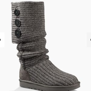 Grey Classic Cardy UGG boots size 9